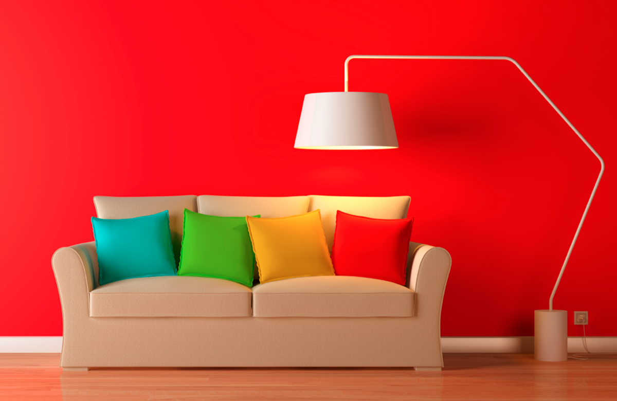 The color of your home can define your mood.